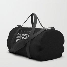 Les temps sont durs pour les rêveurs Duffle Bag