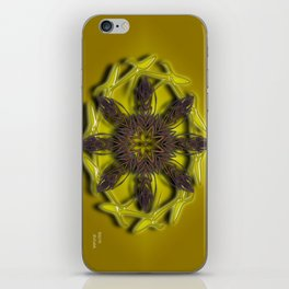 Abstract X Eight iPhone Skin