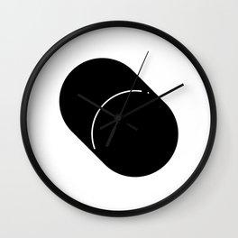 Shapes Cylinder Wall Clock