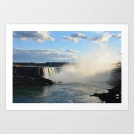 Niagara Waterfall Art Print
