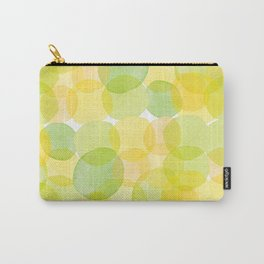 Watercolor Circles Three Carry-All Pouch