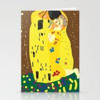 klimt Stationery Cards featuring klimt by John Sailor