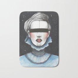 Space Princess Bath Mat