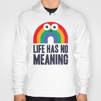 philosophy Hoodies featuring Chaos Rains by David Olenick