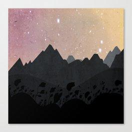 Olber, Invisible Stars Canvas Print