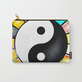 Yin Yang Rainbow Carry-All Pouch