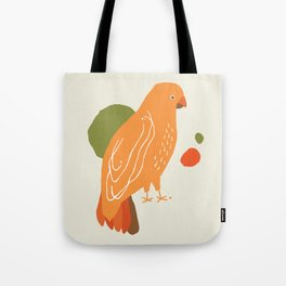 Quirky Australian King Parrot Tote Bag