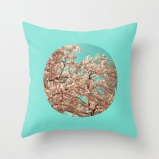 spring tree XVIII Throw Pillow