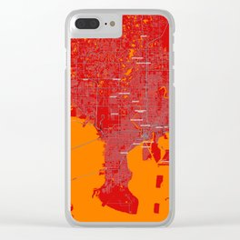 FanMap   NFL Tampa Bay #04 Clear iPhone Case