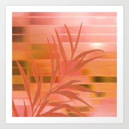 Silky Dusk Art Print