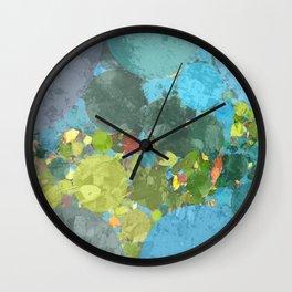 Art of Hurricane Irma Wall Clock