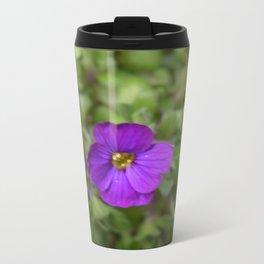 Pretty in Purple Metal Travel Mug