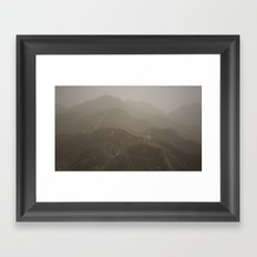 Into Thin Air Framed Art Print