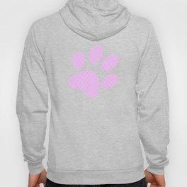 Tiny Paw Prints Pretty Pink Pattern Hoody