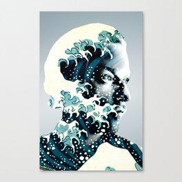 James Johnston Wave Canvas Print