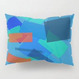 Retracting in Motion Pillow Sham
