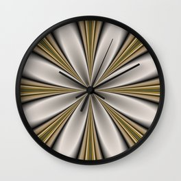 Fractal Flower in CMR 01 Wall Clock