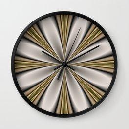 Fractal Flower in CMR 01 Wall Clock
