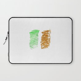flag of ireland 9 -ireland,eire,airlann,irish,gaelic,eriu,celtic,dublin,belfast,joyce,beckett Laptop Sleeve