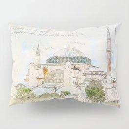 Hagia Sophia, Istanbul Pillow Sham