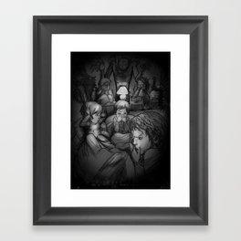 Nightmares Framed Art Print
