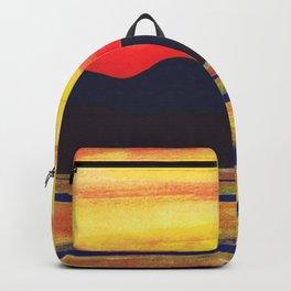 Salish Sea Sunset Backpack