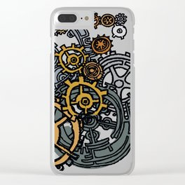 QUARTER TO FOUR Clear iPhone Case