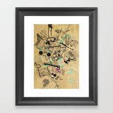 My Broken Dreams Framed Art Print