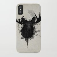 moose iPhone & iPod Cases featuring Moose by Nicklas Gustafsson
