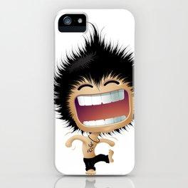 Mr. Zhong: Hahaha iPhone Case