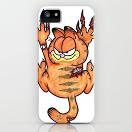""" Zombie Garfeild"" iPhone Case"