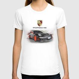Cars: Porsche GT3 RS T-shirt