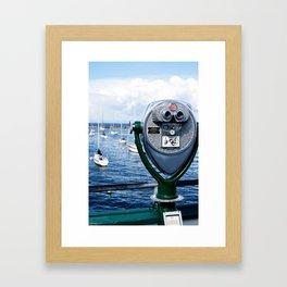 a view of Monterey Framed Art Print