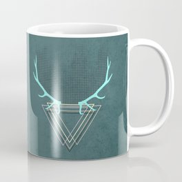 minimalistic deer Coffee Mug