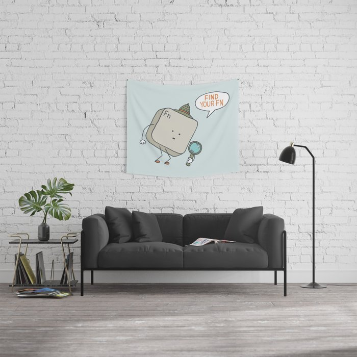 Find Your Function Wall Tapestry