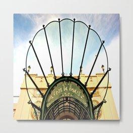 Cafe de Paris Monte-Carlo Monaco Metal Print