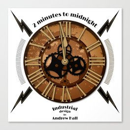 2 Minutes to Midnight Canvas Print