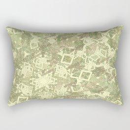 Runic good vibes Rectangular Pillow