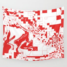 Digital Abstract  Wall Tapestry