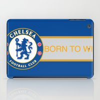 chelsea iPad Cases featuring Chelsea by DeBUM