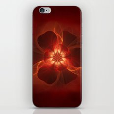 Fire Flower iPhone & iPod Skin