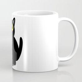 Black kitty Coffee Mug