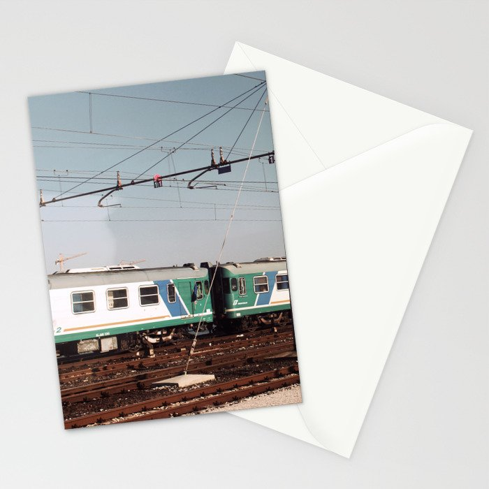 Padova Train Ride Stationery Cards
