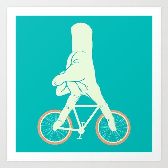 Go Ride Art Print