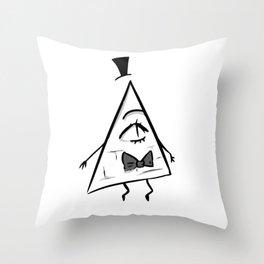 Bill Schiffer - The secret of Gravity Falls (2) Throw Pillow