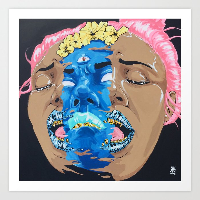 Groupie.BAD4U Art Print