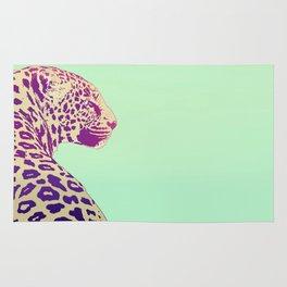 Leopard under the Sun Rug