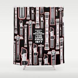 LIGHTSABER Shower Curtain