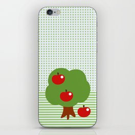 Newton's apples iPhone Skin