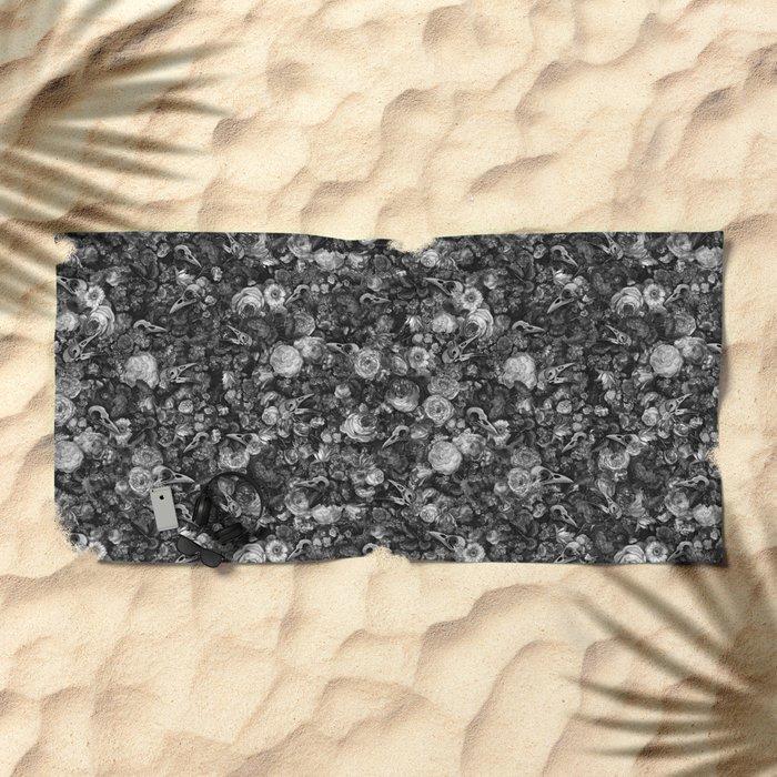 Baroque Macabre II Beach Towel